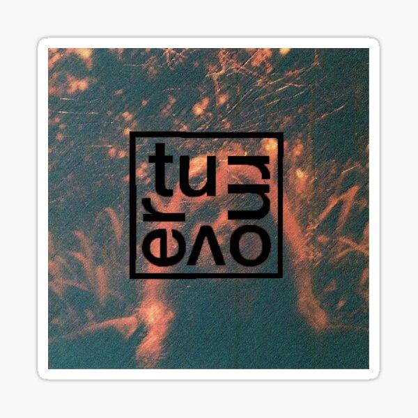 Turnover Peripheral Vision textured album art l, boxogo Sticker