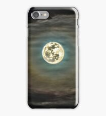 Moon (High Dynamic Range) iPhone Case/Skin