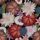 Moody flowers by PatternLady