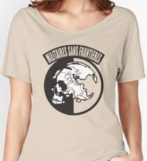 Metal Gear Solid - MSF (Militaires Sans Frontières) Women's Relaxed Fit T-Shirt