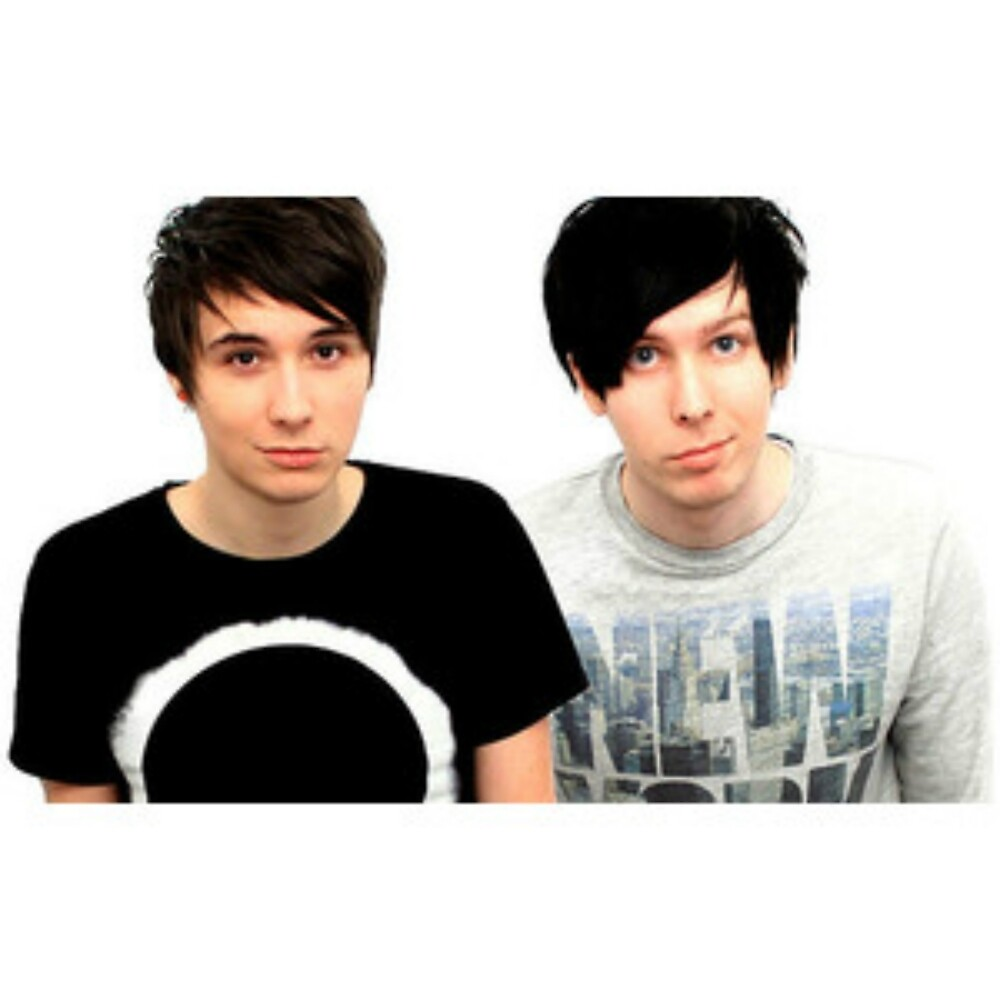 Dan and Phil by vampirebanquet