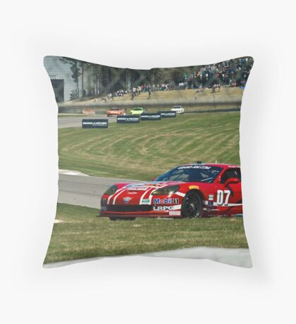 Saturday Race Day Throw Pillow