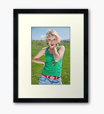 39 Framed Print