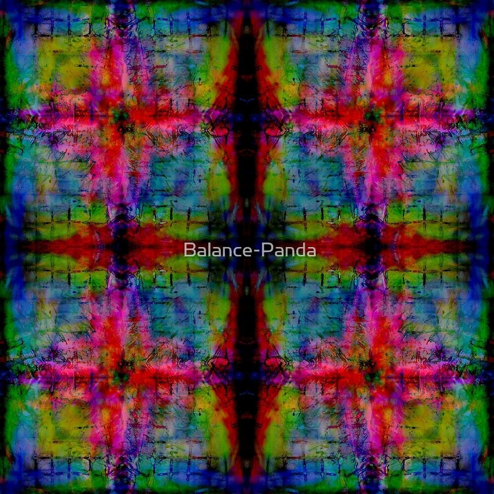 rainbow grid burst by Balance-Panda