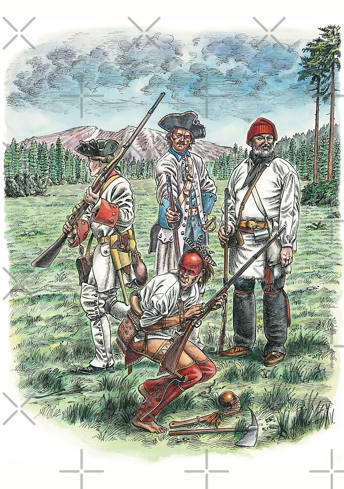 French Troops at the Battle of Quebec 1759 by wonder-webb