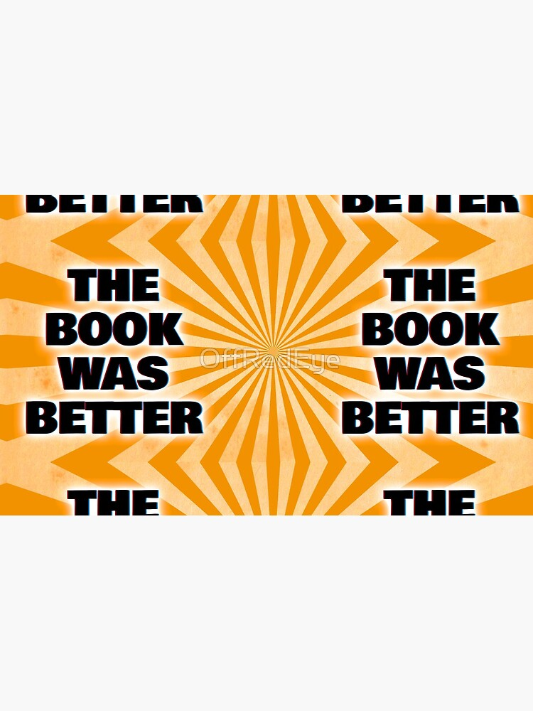 """""""The Book Was Better"""" - Scene by Scene Podcast by OffRedEye"""