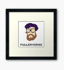 Bryan Fuller Beard & Flower Crown Framed Print