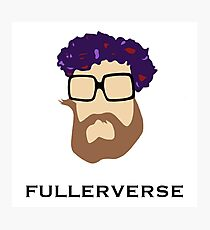 Bryan Fuller Beard & Flower Crown Photographic Print