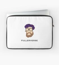 Bryan Fuller Beard & Flower Crown Laptop Sleeve