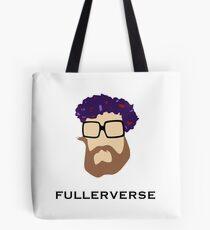 Bryan Fuller Beard & Flower Crown Tote Bag