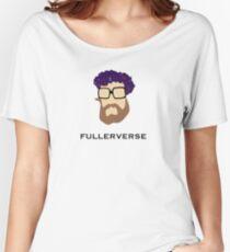 Bryan Fuller Beard & Flower Crown Women's Relaxed Fit T-Shirt