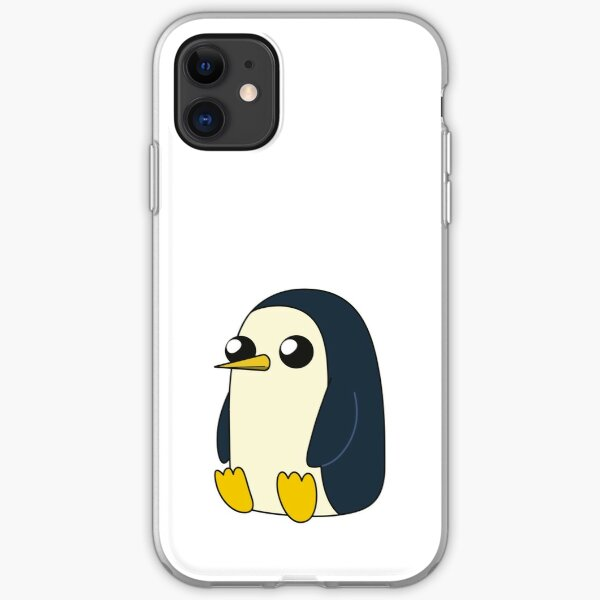 AdventureTime™ – Gunter sitting and looking stoic but cute iPhone Soft Case