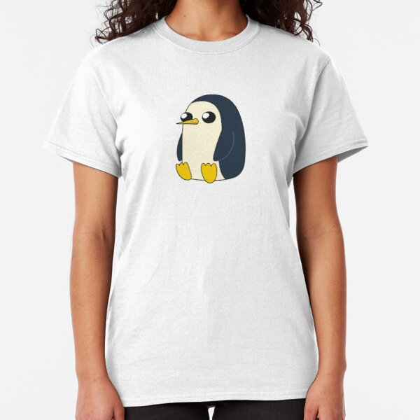 AdventureTime™ – Gunter sitting and looking stoic but cute Classic T-Shirt