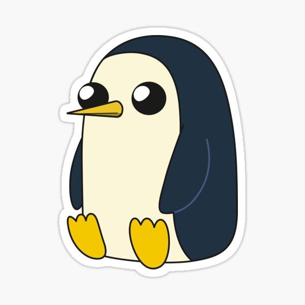 AdventureTime ™ - Gunter assis et regardant stoïque mais mignon Sticker