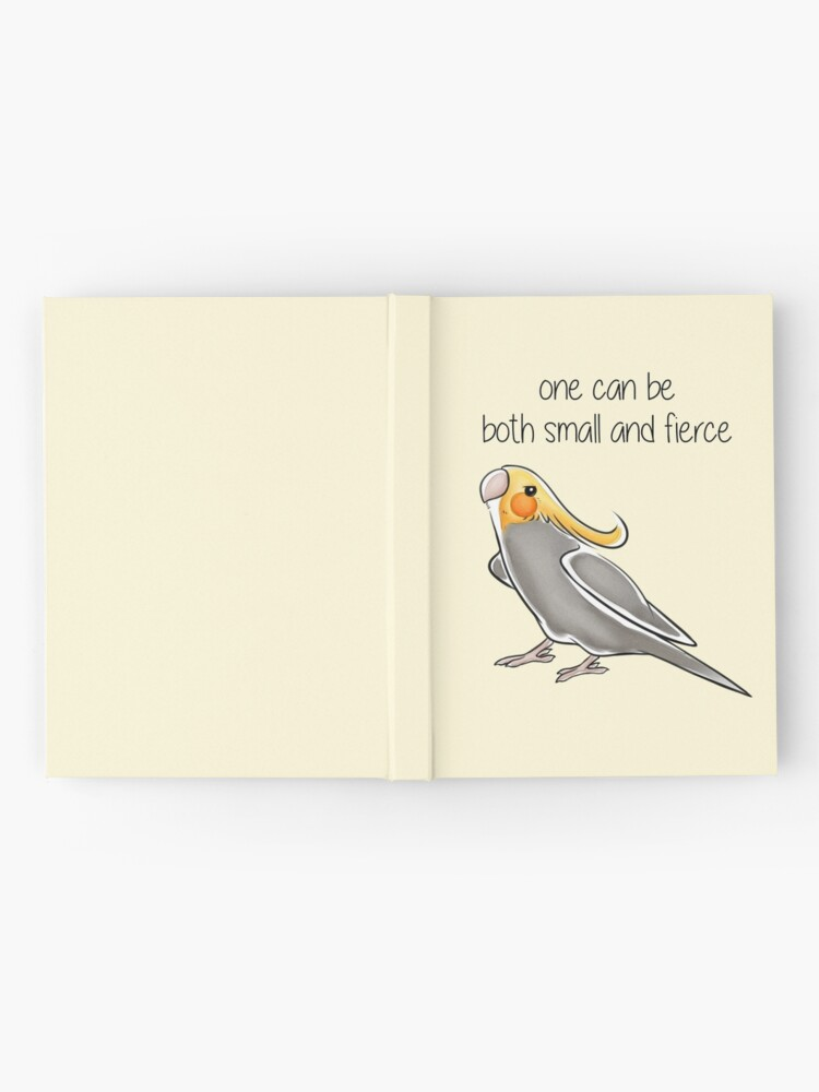 Alternate view of Small and Fierce Hardcover Journal