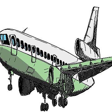 DC10 Douglas Jet Tri Jet de Statepallets