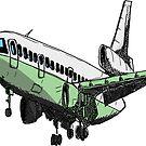 «DC10 Douglas Jet Tri Jet» de Statepallets