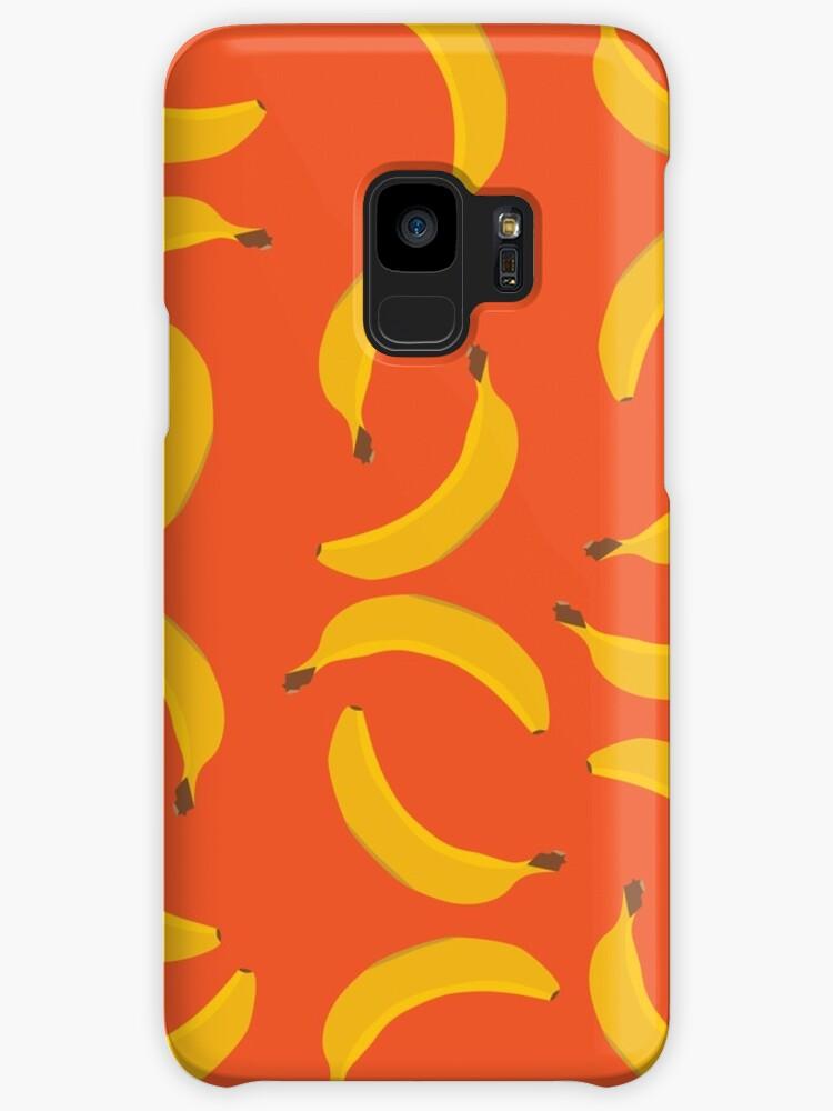 Banana Pattern - Orange by tmdesign