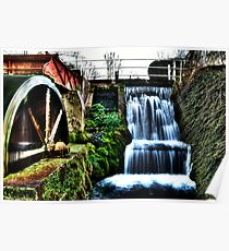 HDR water Mill Poster