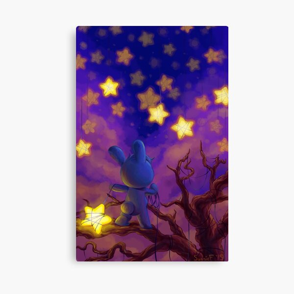 The Star Slinger Canvas Print