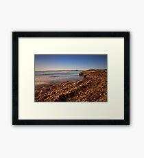 La spiaggia di Vendicari Framed Print
