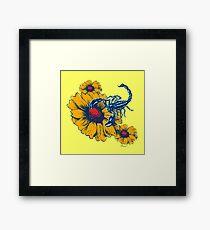 Scorpion Flowers Framed Print