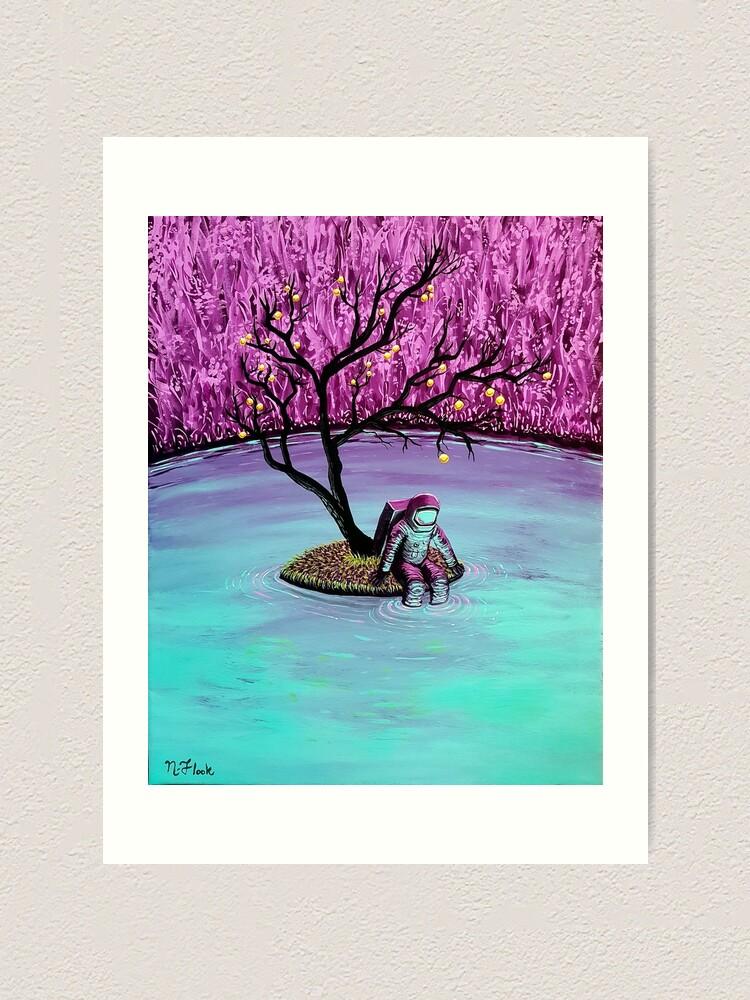 Alternate view of Dreamer Art Print