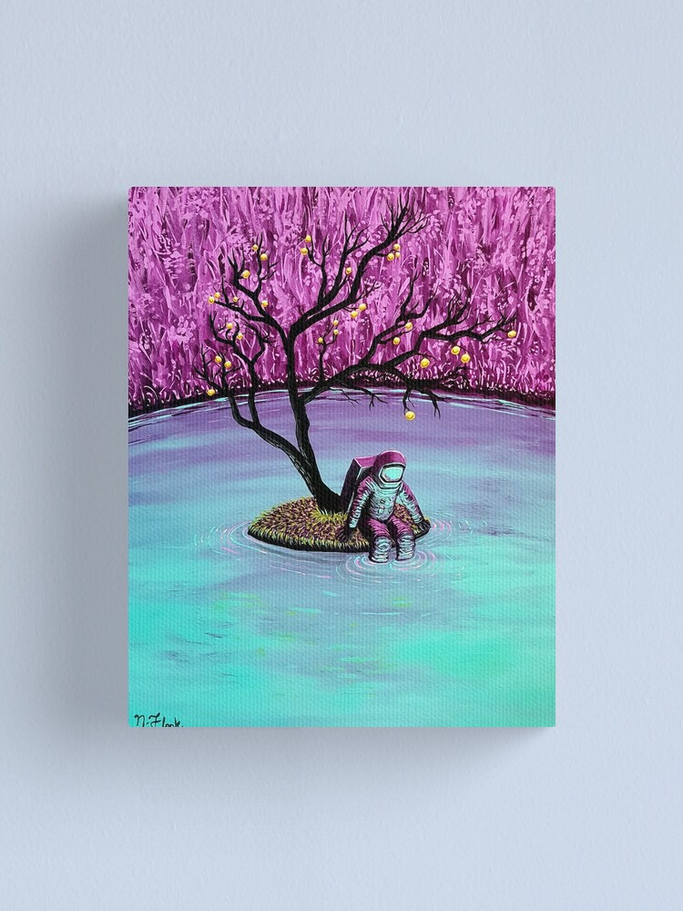 Alternate view of Dreamer Canvas Print