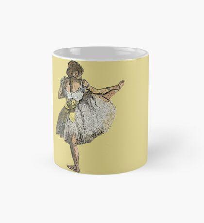 Ballet Dancer Grunge Mug