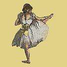 Ballet Dancer Grunge by DesignsByDebQ