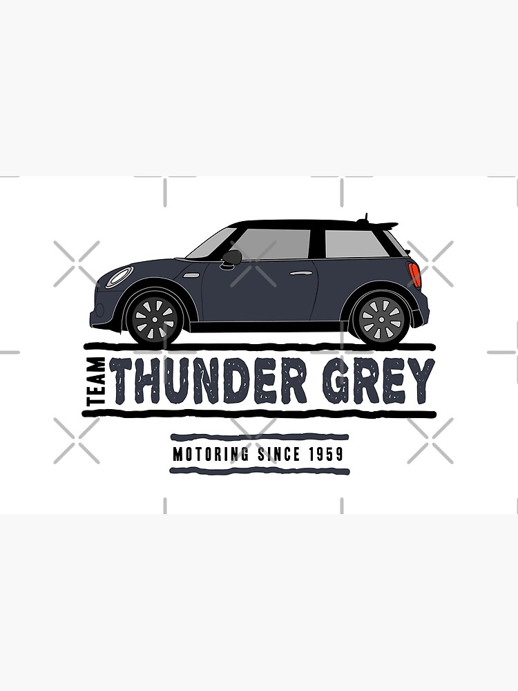 F56 Mini Team Thunder Grey by Wildharegrafix