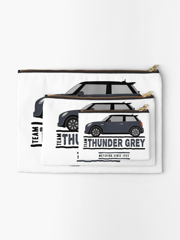 Alternate view of F56 Mini Team Thunder Grey Zipper Pouch