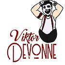 Viktor Devonne Caracature 2B by weburlesque
