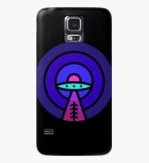 Aliens - Nacht Ver Hülle & Klebefolie für Samsung Galaxy