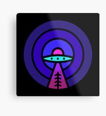 Aliens - Night Ver Metal Print