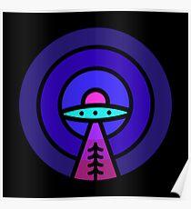 Aliens - Night Ver Poster
