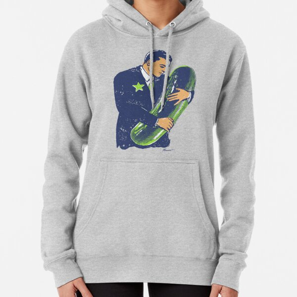 Hold The Pickle - American Oddities #3 Pullover Hoodie