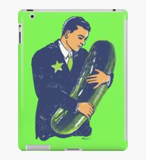 Hold The Pickle - American Oddities #3 iPad Case/Skin