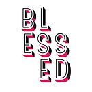 Blessed - Modern Art Deco Style Design by Kelsorian