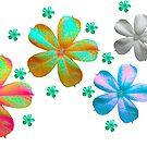 Blumen Wiese  von rhnaturestyles
