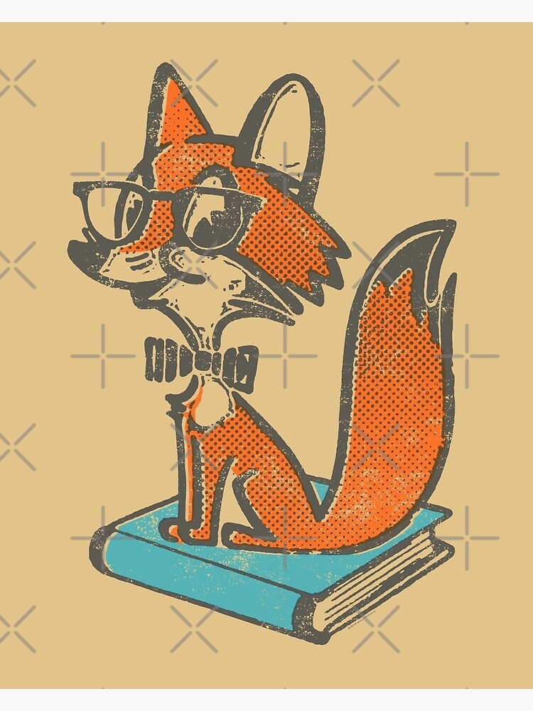 Fox Librarian by WillRuocco