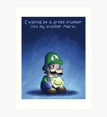 Luigi's Wish Art Print