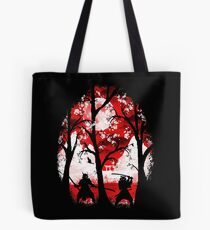 Samurai Battle Tote Bag