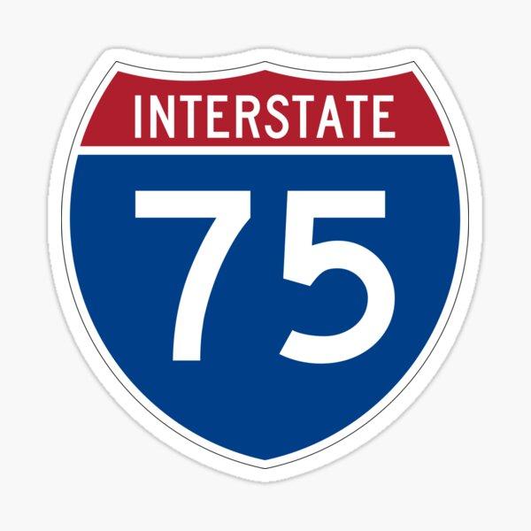 Interstate 75 Sticker