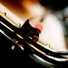 Les violons  vibrant  derrière  les collines by Danica Radman