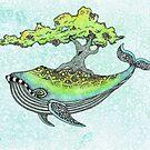 Deep Sea Tree by LonelyTreeArt