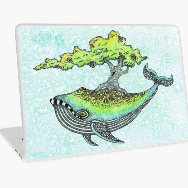 Deep Sea Tree Laptop Skin
