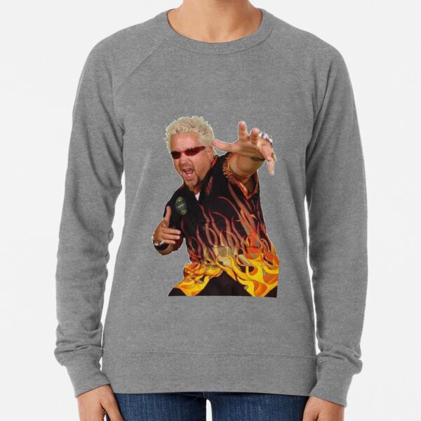 Guy Fieri - King of flavortown Lightweight Sweatshirt