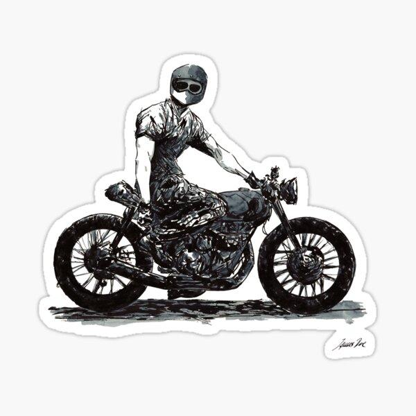 Rider 4 Sticker