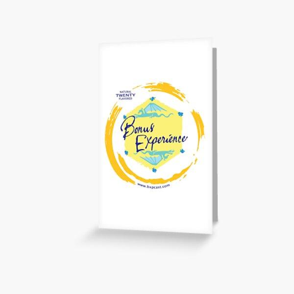 Sparkling Water BXP Logo - Lemon Greeting Card